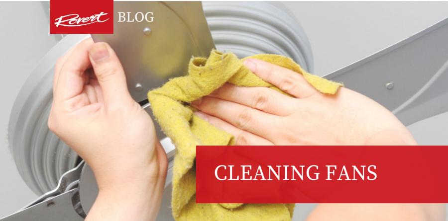 Cleaning Fans - fan