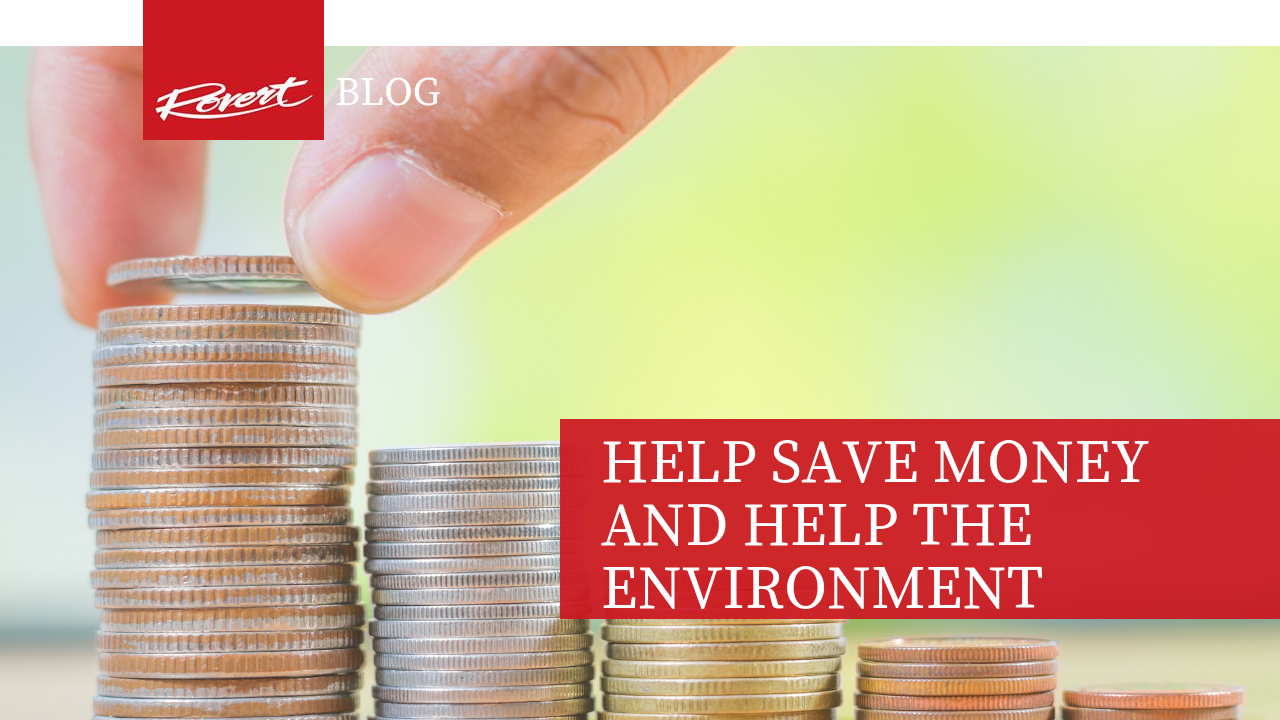 Save money and help the envronment