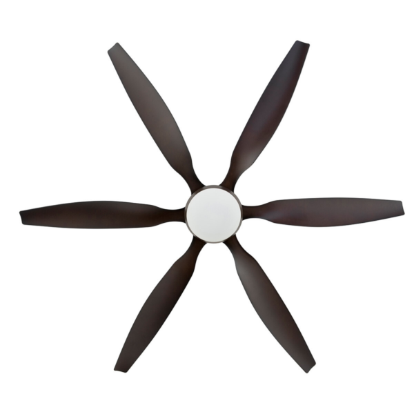 "Aviator 66"" Oil-Rubbed Bronze DC Ceiling Fan with interchangeable Light Kit -"