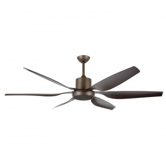 Aviator 66″ Oil-Rubbed Bronze DC Ceiling Fan with interchangeable Light Kit
