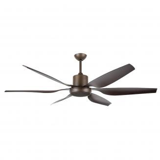 Aviator 66″ Oil-Rubbed Bronze DC Ceiling Fan with interchangeable Light Kit