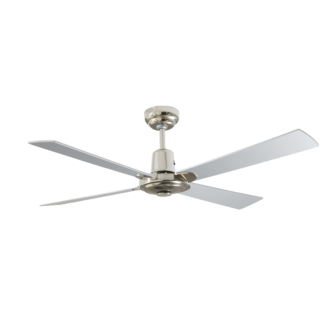 Martec Four Seasons Alpha Silver Ceiling Fan without Light