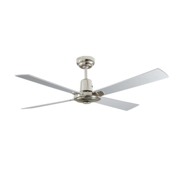 Martec Four Seasons Alpha Silver Ceiling Fan without Light -