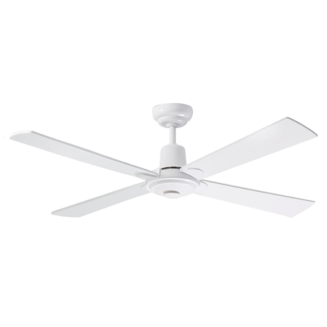 Martec Four Seasons Alpha White Ceiling Fan without Light