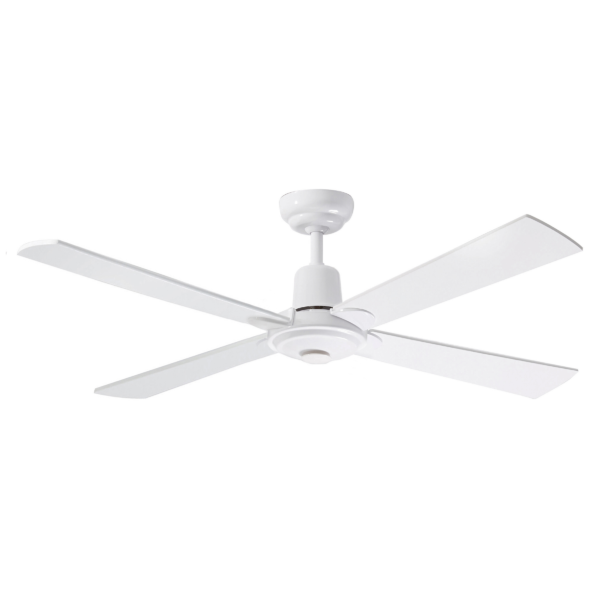 Martec Four Seasons Alpha White Ceiling Fan without Light -