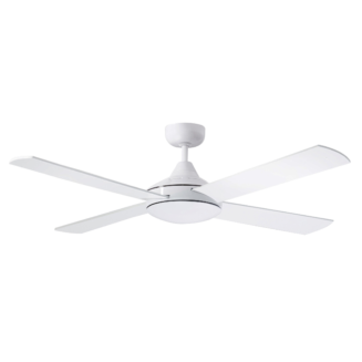 Martec Four Seasons Primo White Ceiling Fan without Light