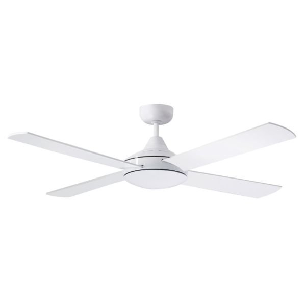 Martec Four Seasons Primo White Ceiling Fan without Light -