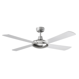 Martec Four Seasons Primo Silver Ceiling Fan without Light