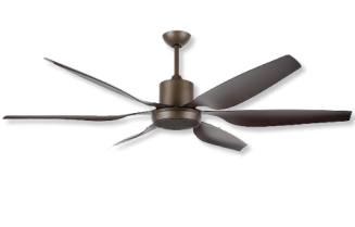 66″ High Performance Ceiling Fan – Oil-Rubbed Bronze