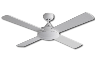 Ceiling Fan White Finish