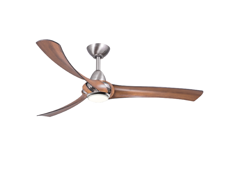 shadow chrome motor koa blades fan