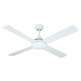 Hunter Pacific Azure White Ceiling Fan without Light