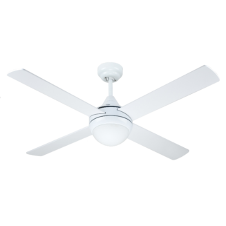 Hunter Pacific Azure White Ceiling Fan with 18w LED Tri Colour Light