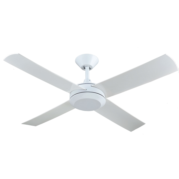 Hunter Pacific Concept 3 White Ceiling Fan without Light -