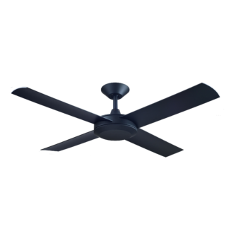Hunter Pacific Concept 3 Matt Black Ceiling Fan without Light