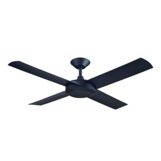 Hunter Pacific Concept 3 Matt Black Ceiling Fan without Light
