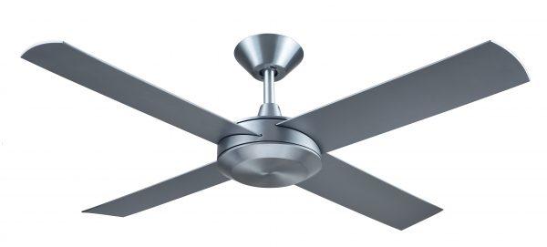 Ceiling Fan Silver Finish -
