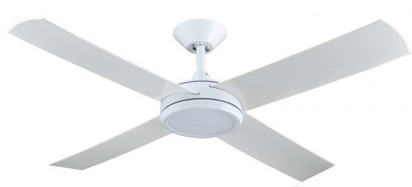 Ceiling Fan White Finish with 24w LED Light -