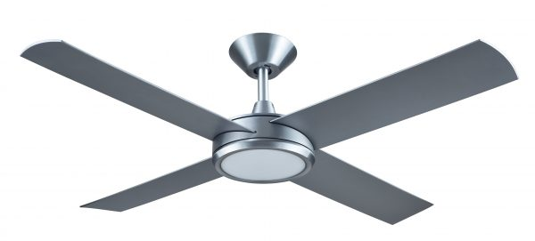 Ceiling Fan Silver Finish With 24w LED Light -