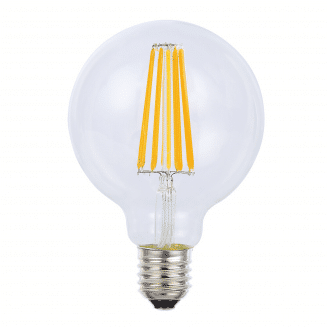 G95 8W ES Dimmable LED Globe Warm White