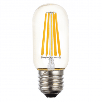 8W ES Dimmable T45 Filament LED Globe Warm White