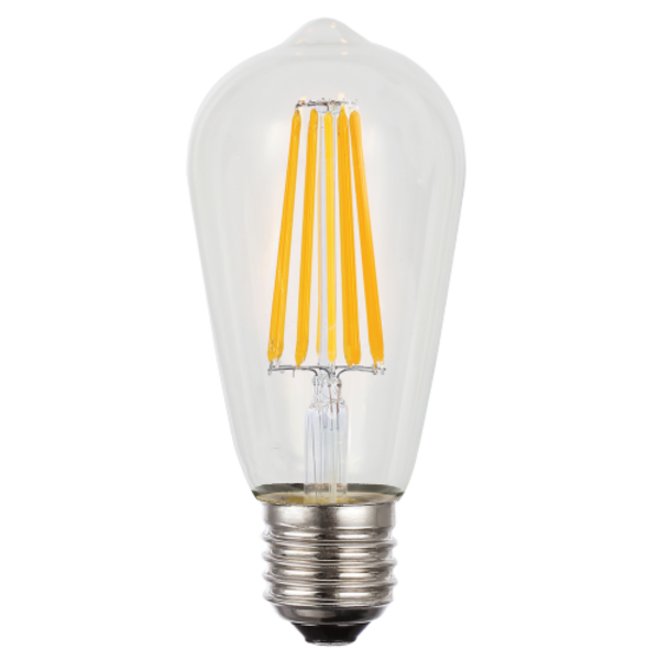8W ES Dimmable Warm White LED Globe -