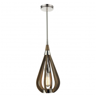 Bonito Timber Tear Drop Small Pendant Light
