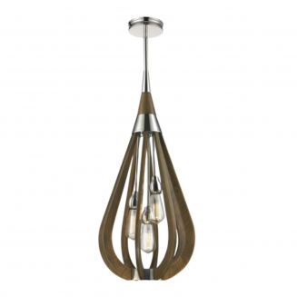 Bonito Timber Tear Drop Medium Pendant Light
