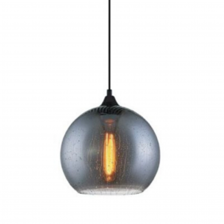 CHUVA2 Smoke Black Glass Pendant Light