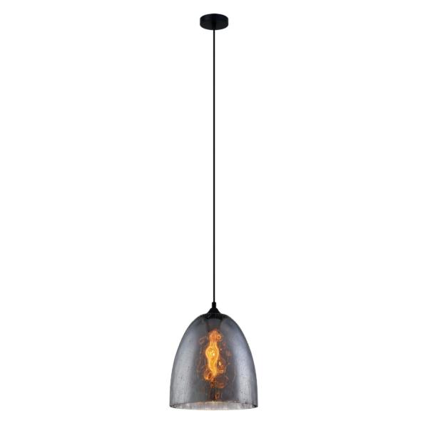 CHUVA3 Smoke Black Glass Pendant Light -