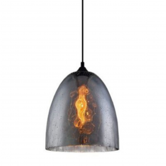 CHUVA3 Smoke Black Glass Pendant Light