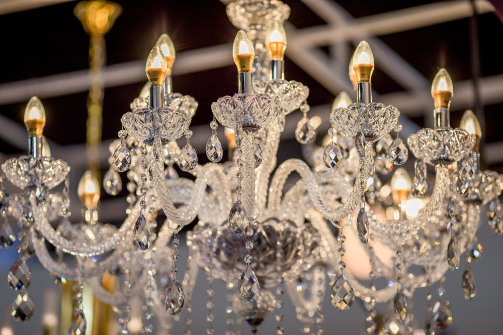 Crystal chandeliers -