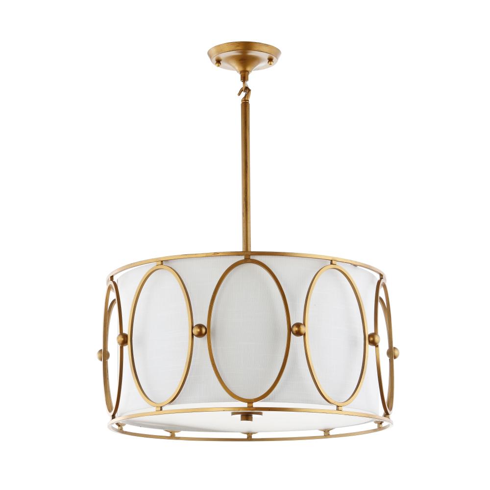 Drum chandeliers -