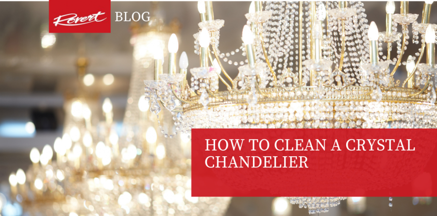 How to clean a Crystal Chandelier -