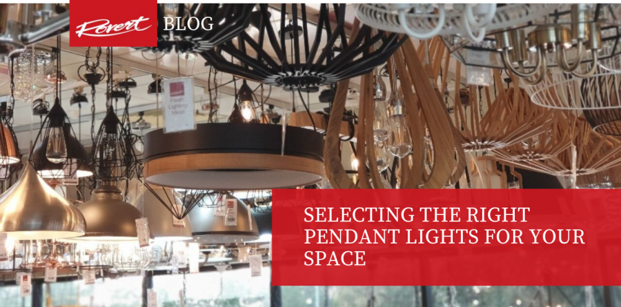 Selecting the Right Pendant Lights for Your Space -