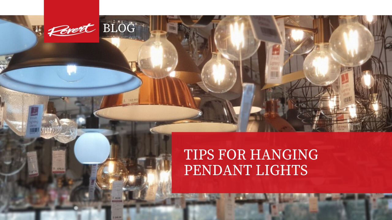 Tips for Hanging Pendant Lights