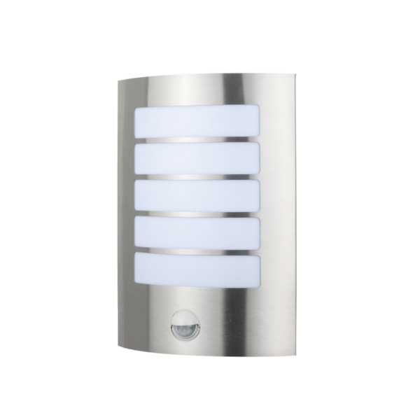 Stark Outdoor LED Wall Light With Sensor -