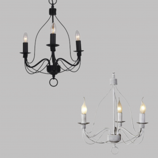 Candice 3 Light Candelabra Chandelier