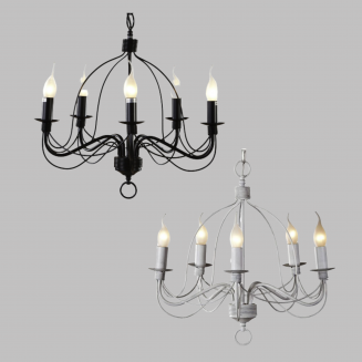 Candice 5 Light Candelabra Chandelier