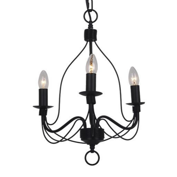 Candice 3 Light Candelabra Chandelier -