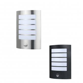 Stark Outdoor LED Wall Light With Sensor