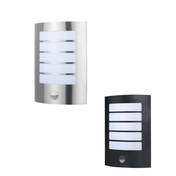 Stark Outdoor LED Wall Light with Sensor