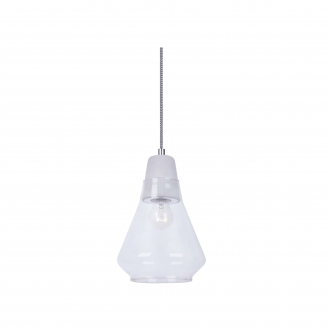 Ellise Stone and Glass Pendant Light