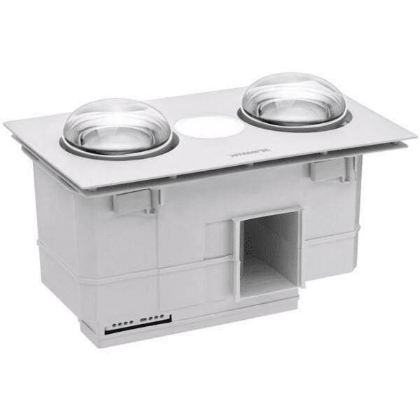 Martec Forme 2 3-in-1 Bathroom Heater, Fan and Light -