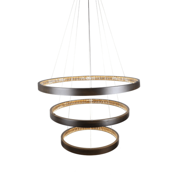 Margo Aluminium-Crystal LED Pendant Light -