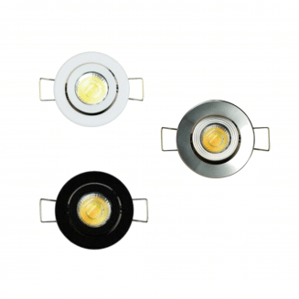 Munchkin 3W LED Mini-Gimbal CCT Downlight