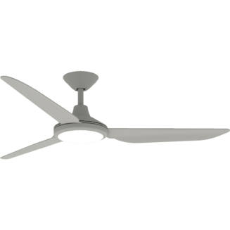Hunter Pacific Polar DC Fan with LED Tri-Colour Light Matt White 48″ Blade