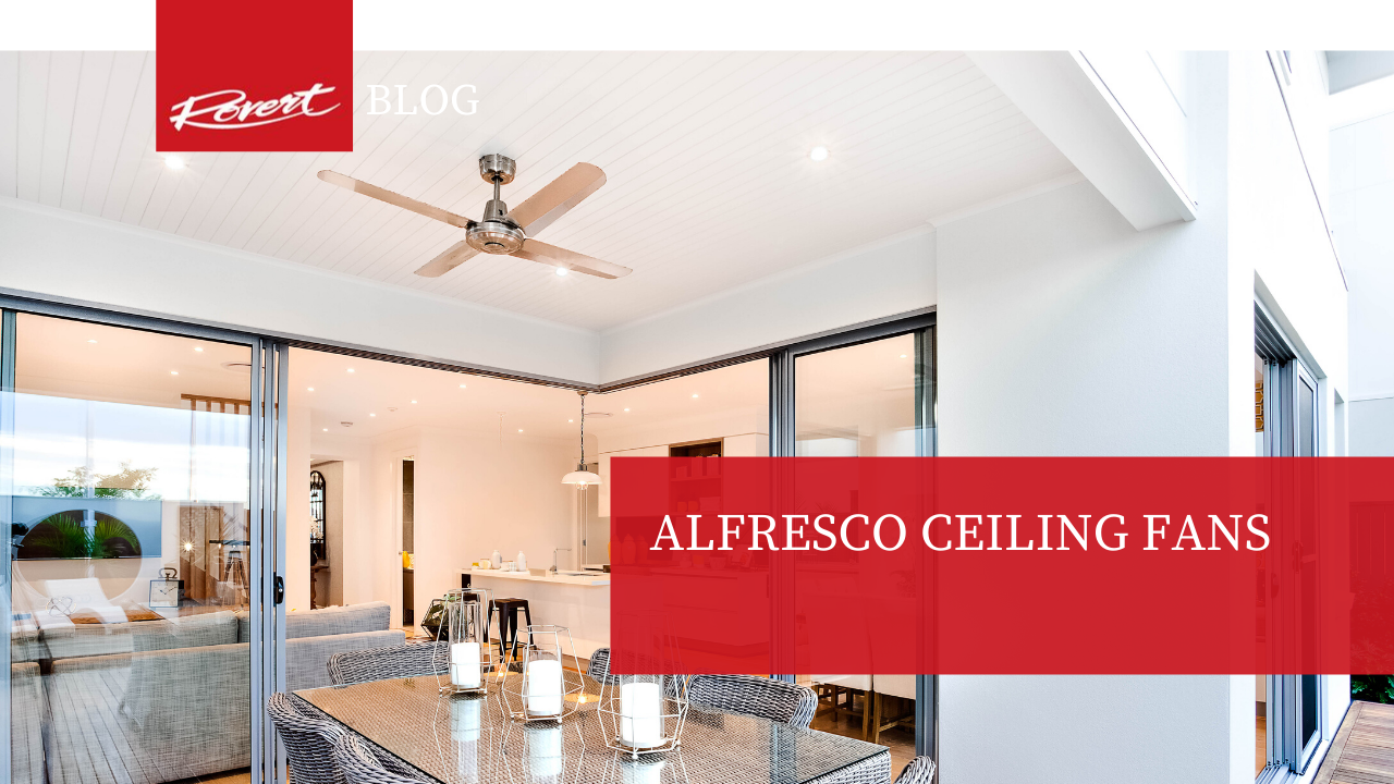 Alfresco ceiling fans