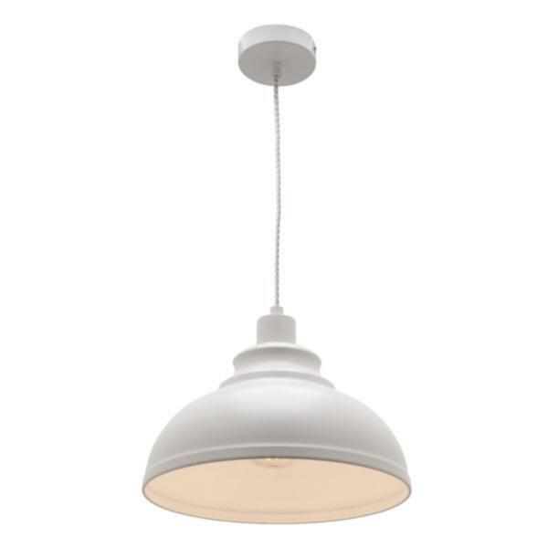 Risto Café Style Dome Pendant -