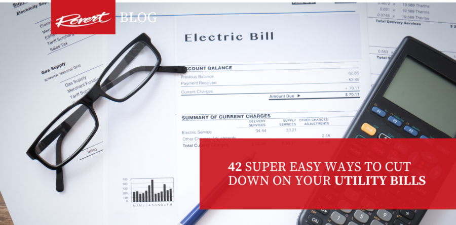 42 Super Easy Ways to Cut Down on Your Utility Bills -